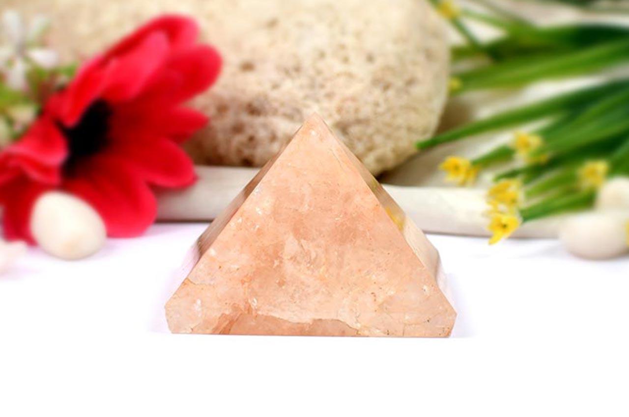 Pyramid in Natural Sunstone