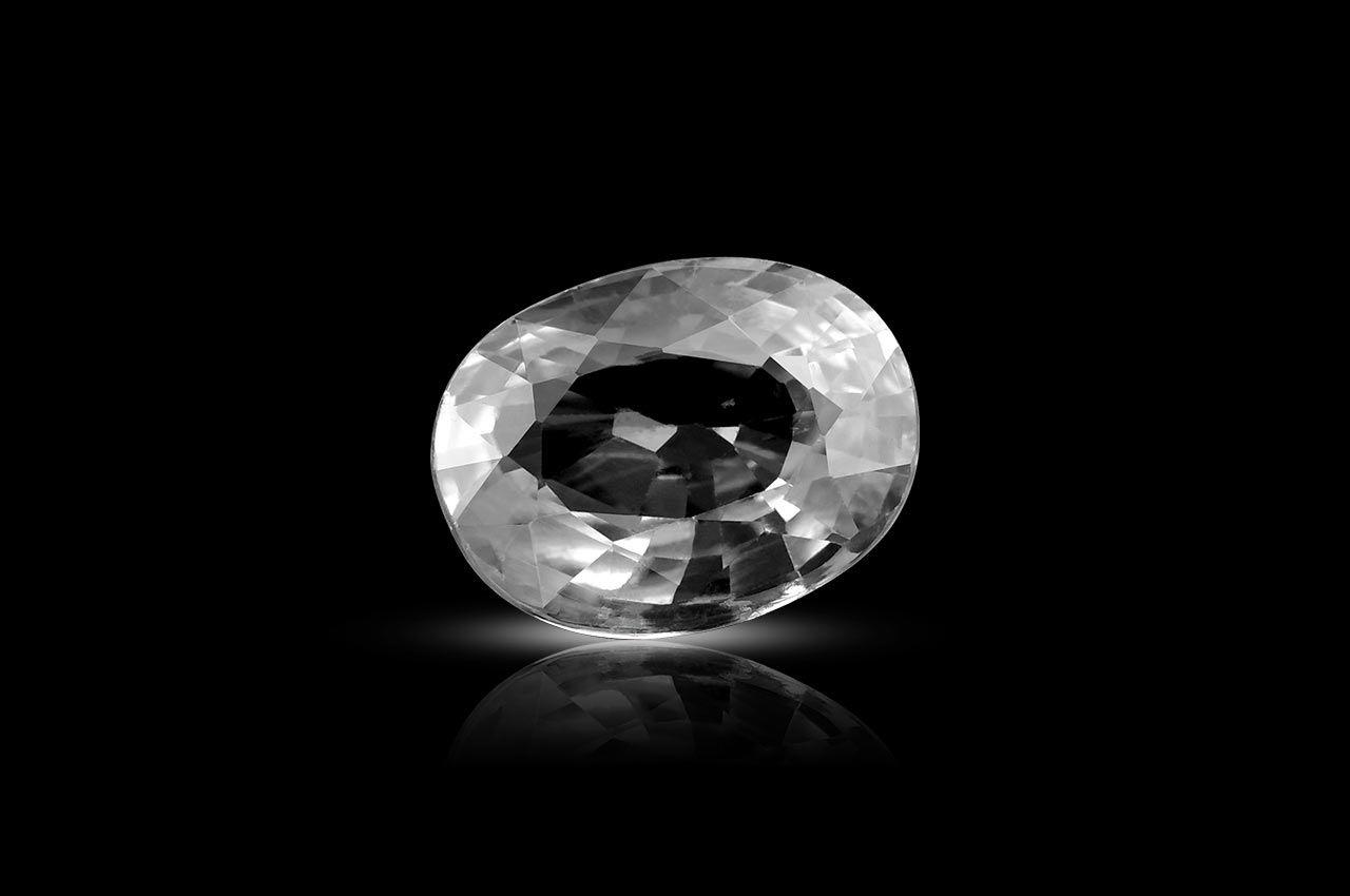 White Zircon - 7.60 Carats