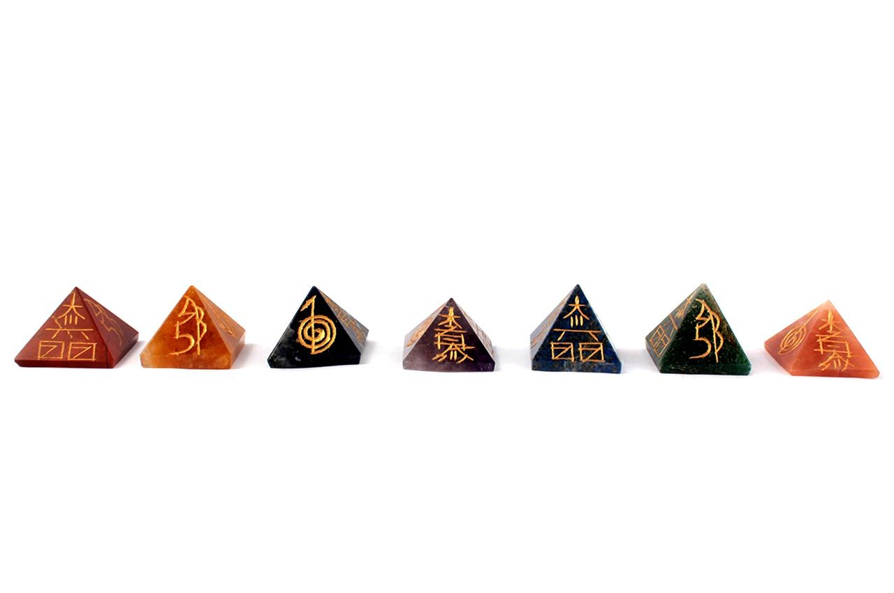 7 Chakra Pyramids