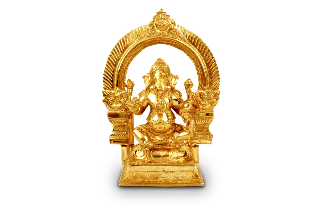 Ganesha in bronze