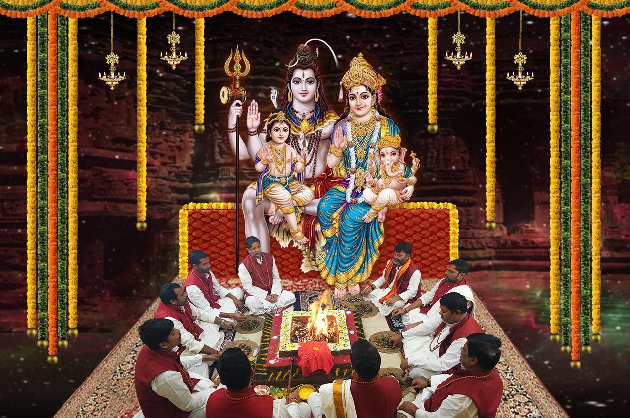 Shiv Parivar Puja