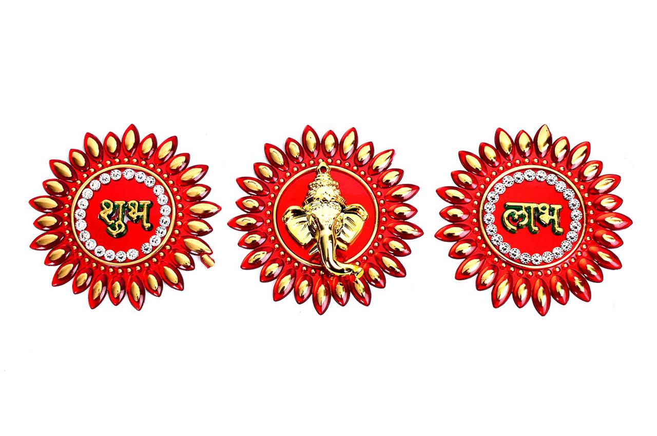 Shubh Labh Sticker - Set of 3