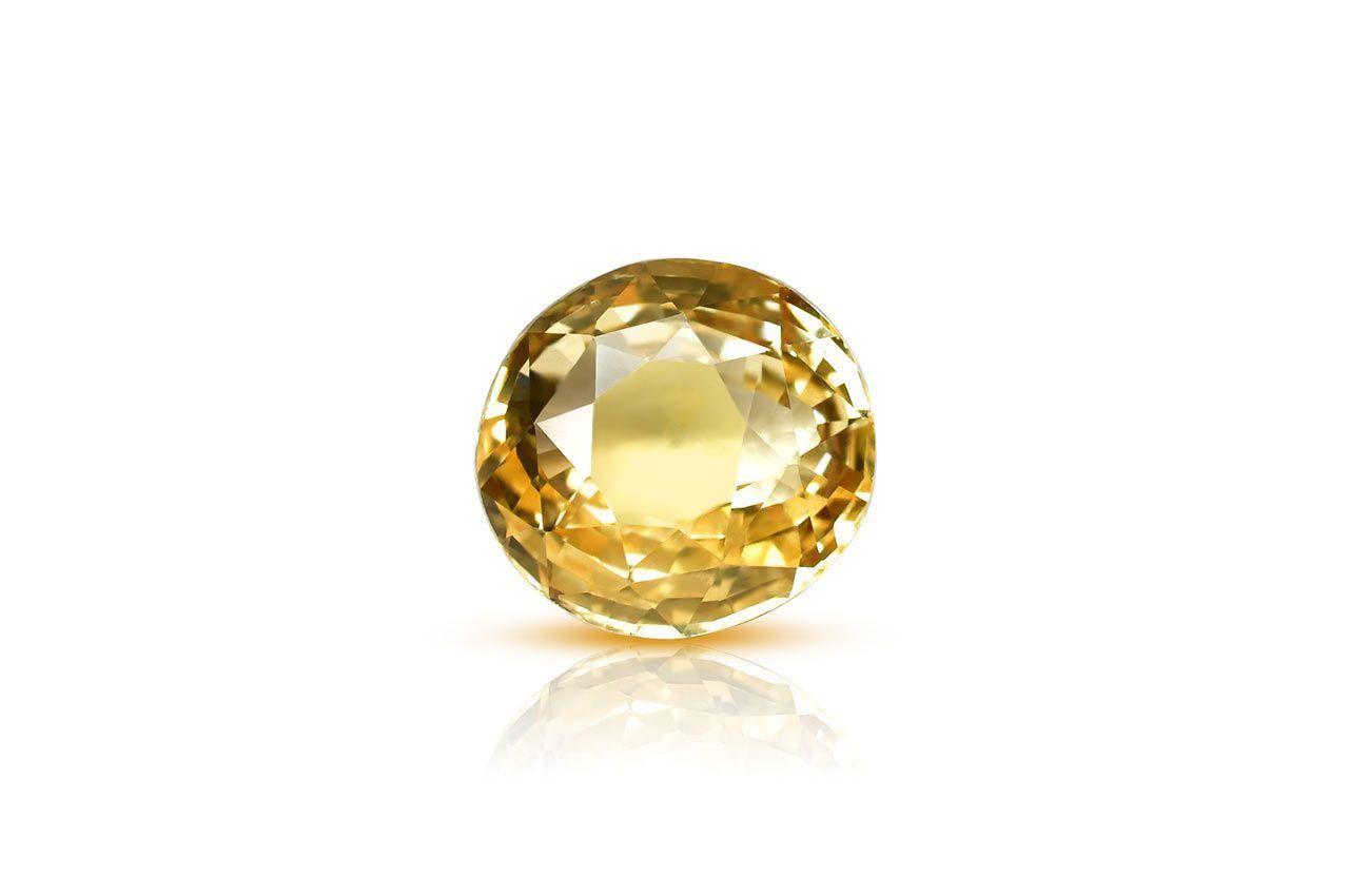 Yellow Sapphire - 2.57 carats
