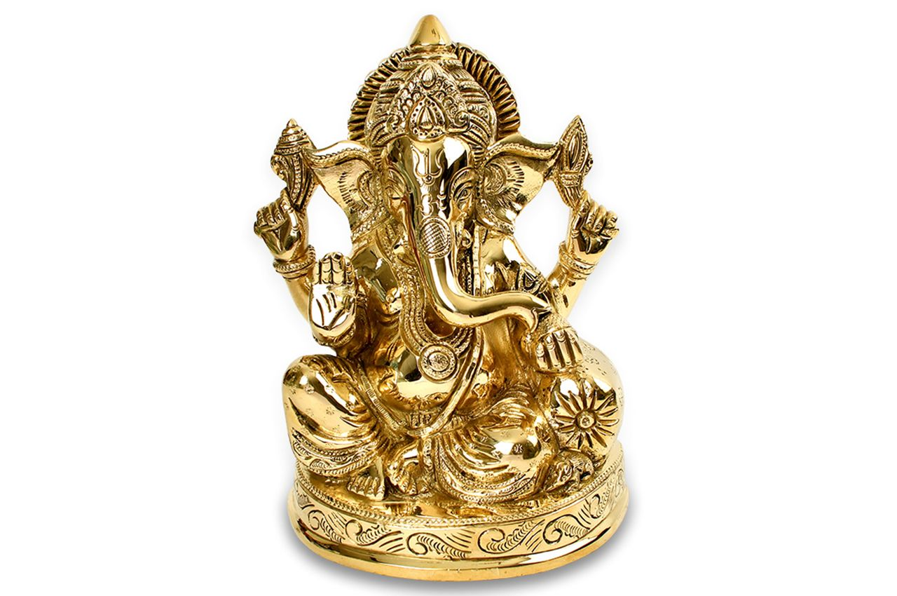 Lord Ganesha in Brass - II