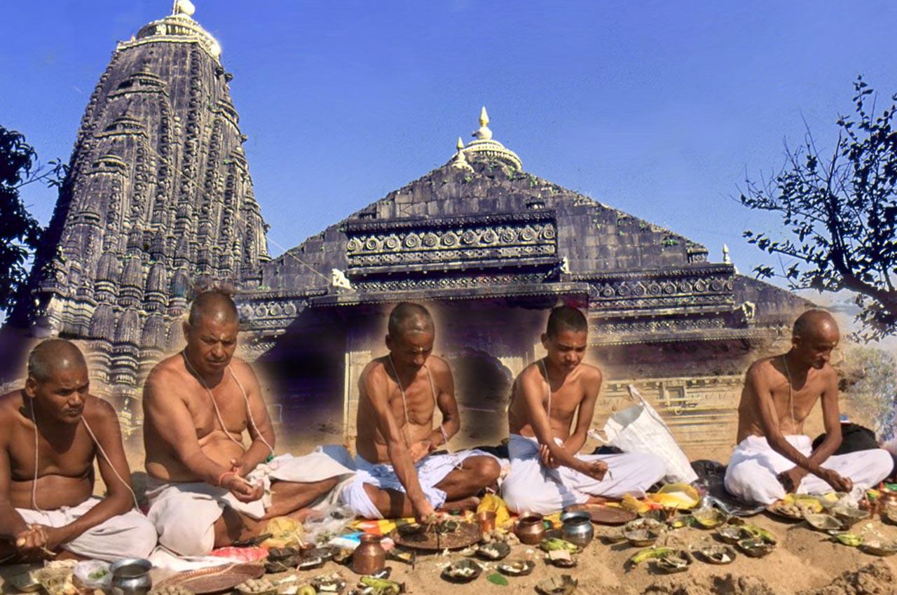 Mahalaya Shradh Puja at Trimbakeshwar