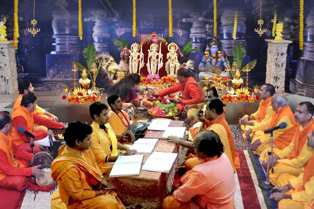 Akhand Ramayana Path - Maha Puja - 21st April