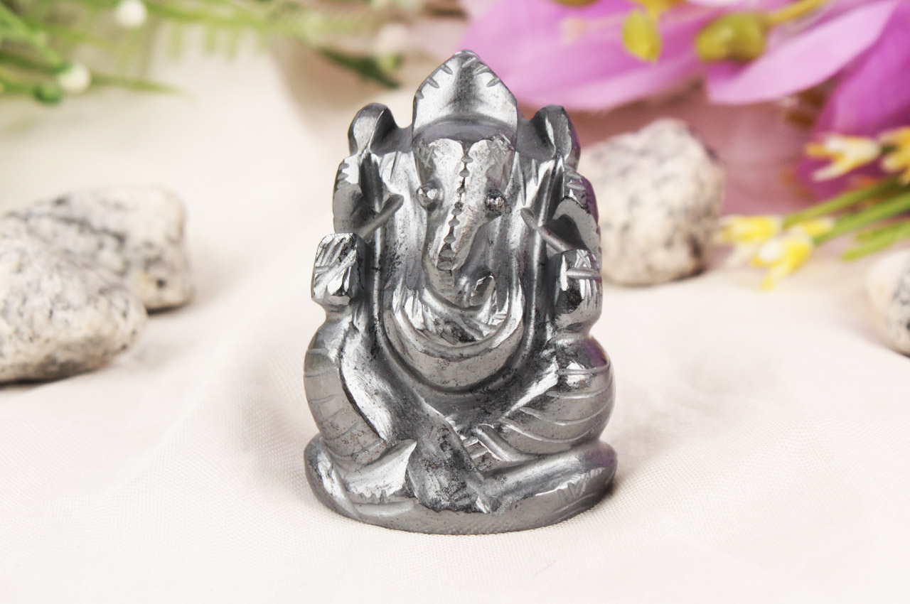 Hematite Ganesha - 100 gms