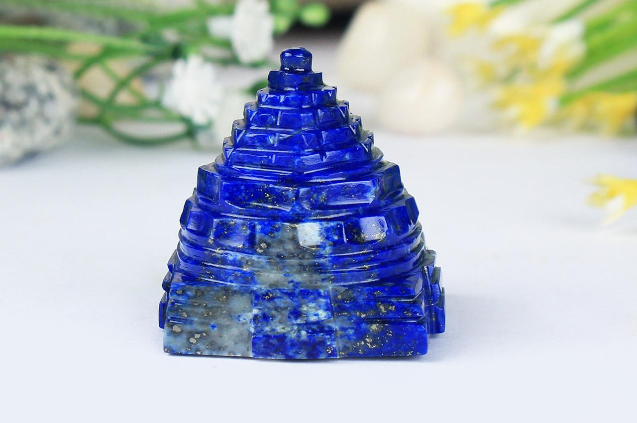 Lapis Lazuli Shree Yantra - 35 gms