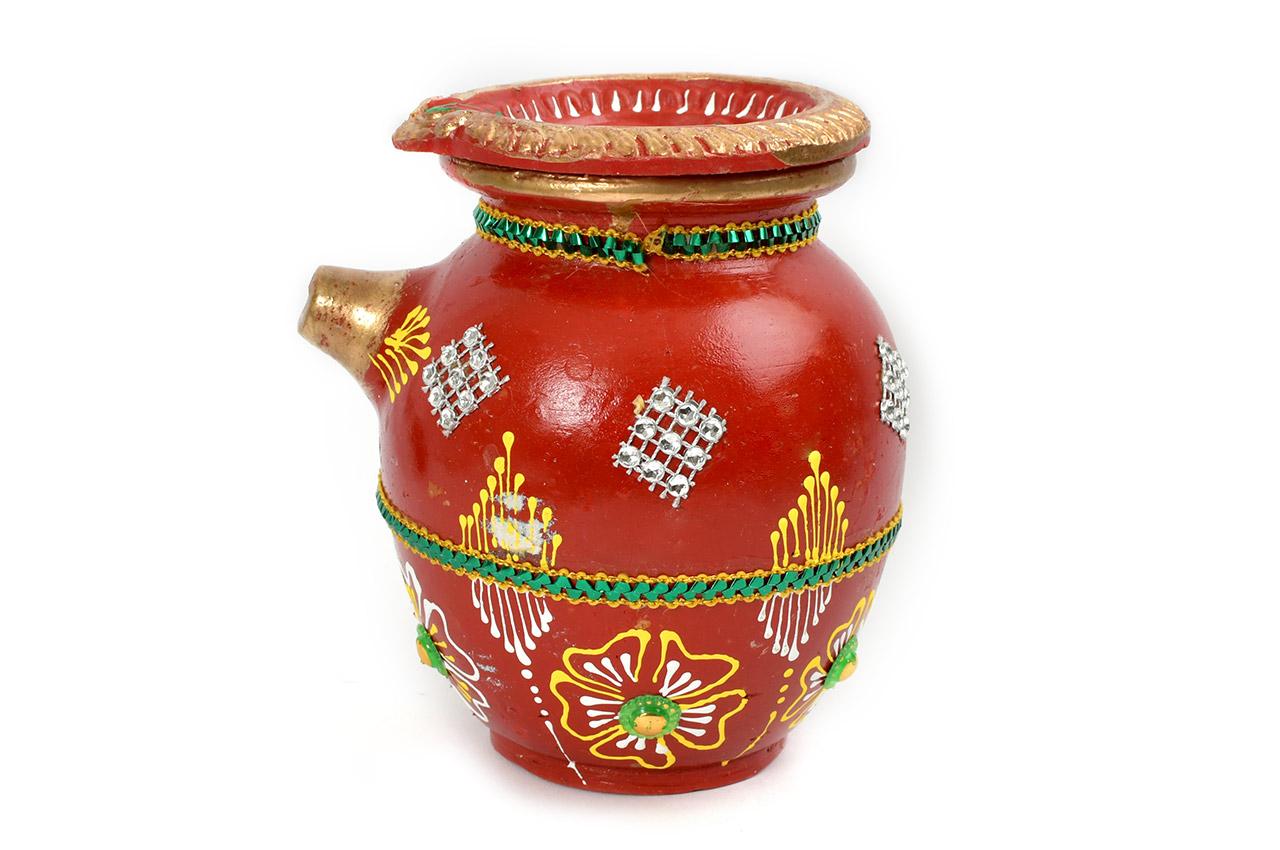 Karva Chauth Pot - Designer