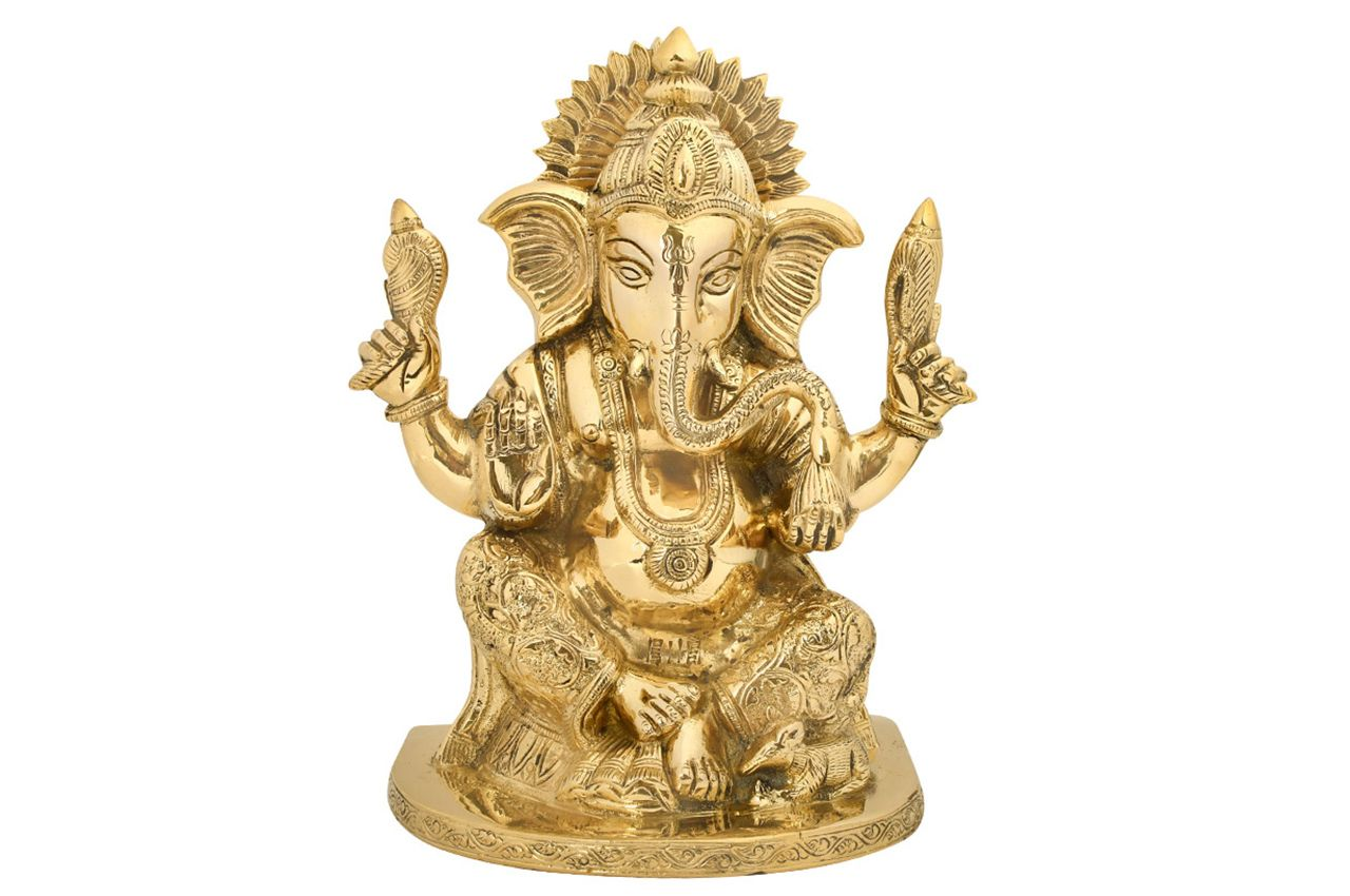 Ganesha in Brass