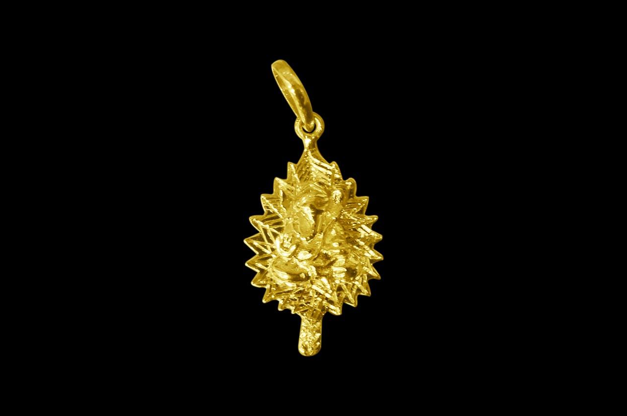 Ganesh pendant in gold design vi rudraksha ratna ganesh pendant in gold design vi aloadofball Gallery