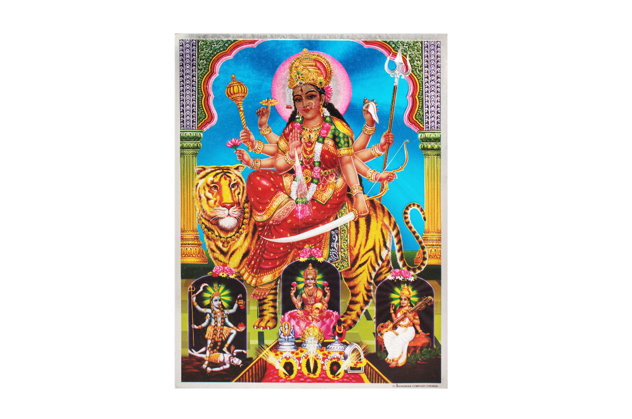 Goddess Durga Devi Photo - Large