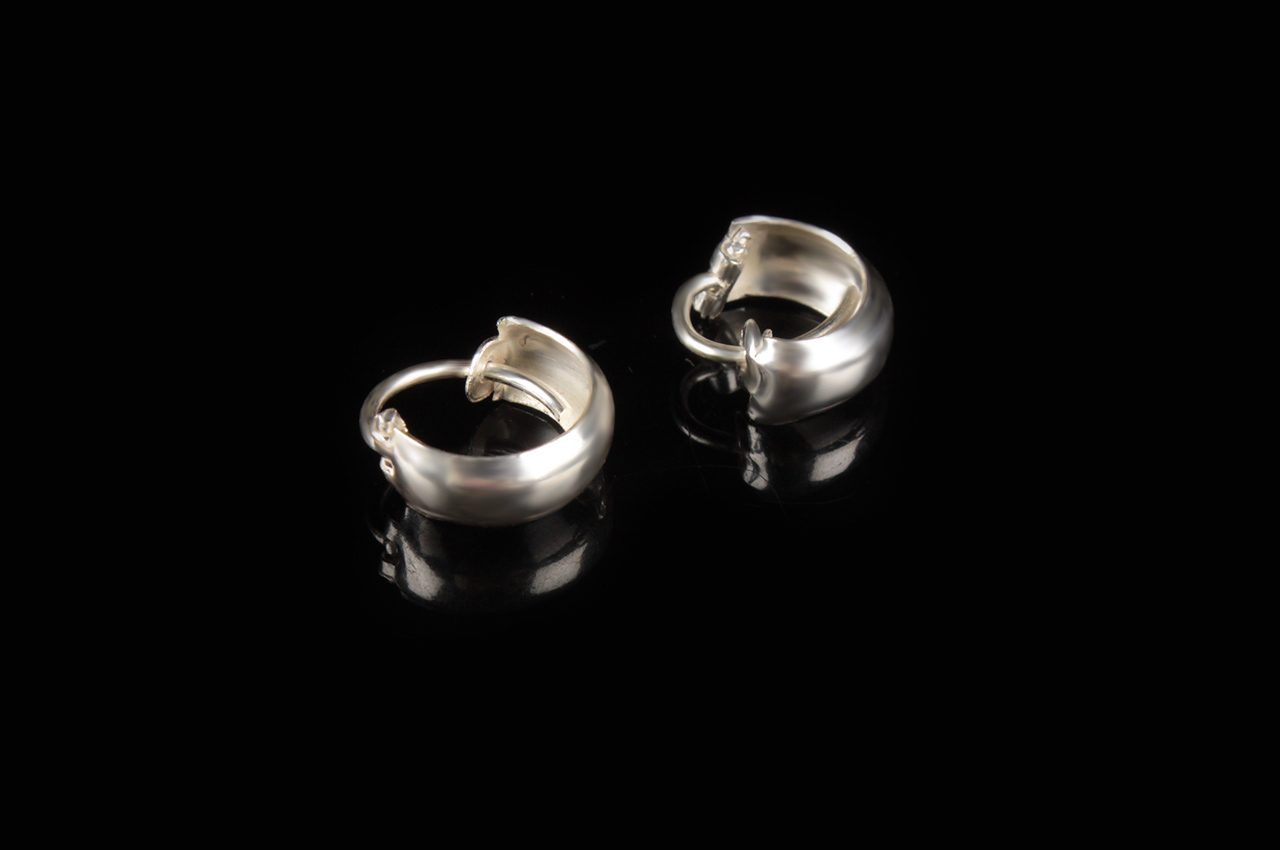 Earrings in Silver - Design XI