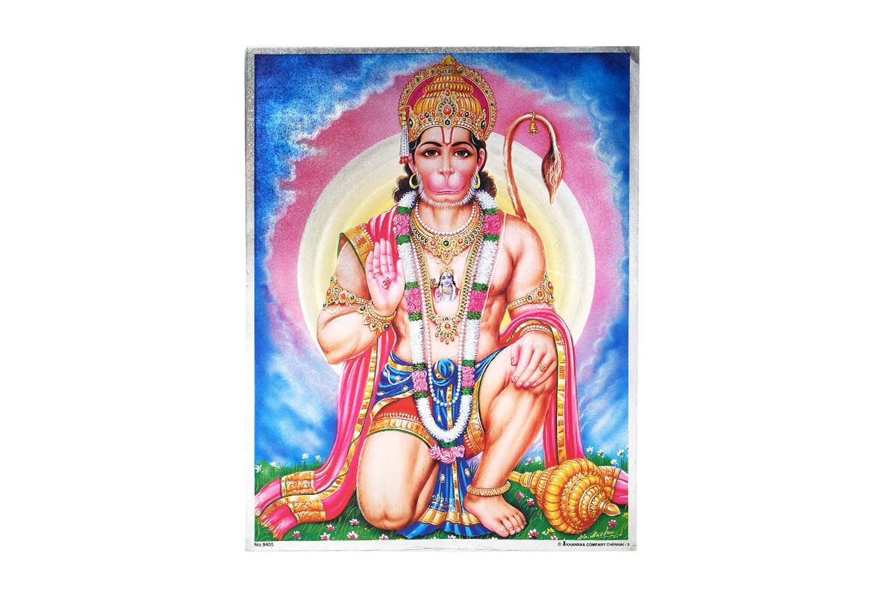 Lord Hanuman Photo - Large - Design I