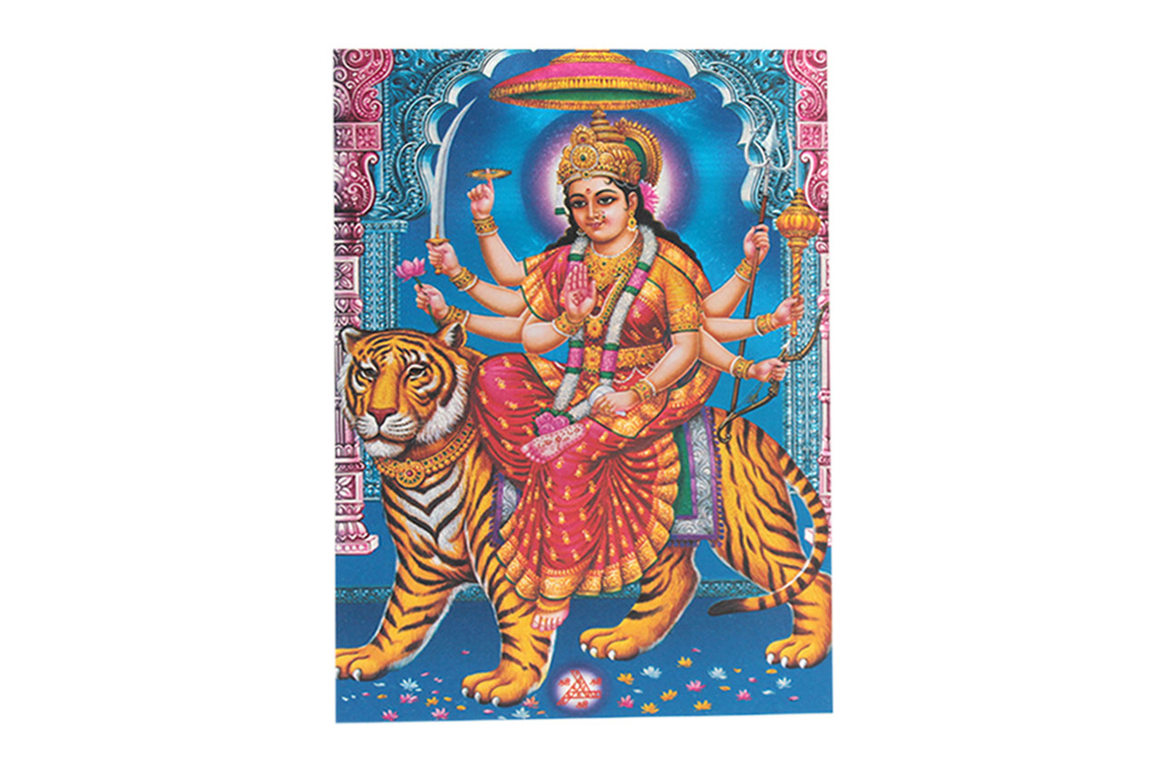 Goddess Durga Maa Photo - Medium
