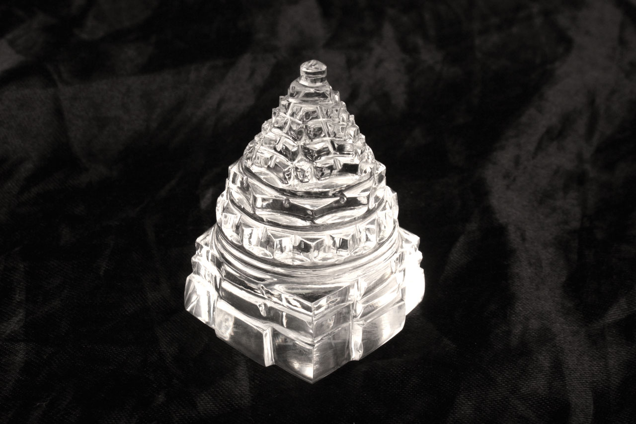 Shree Yantra in Sphatik - 100 gms