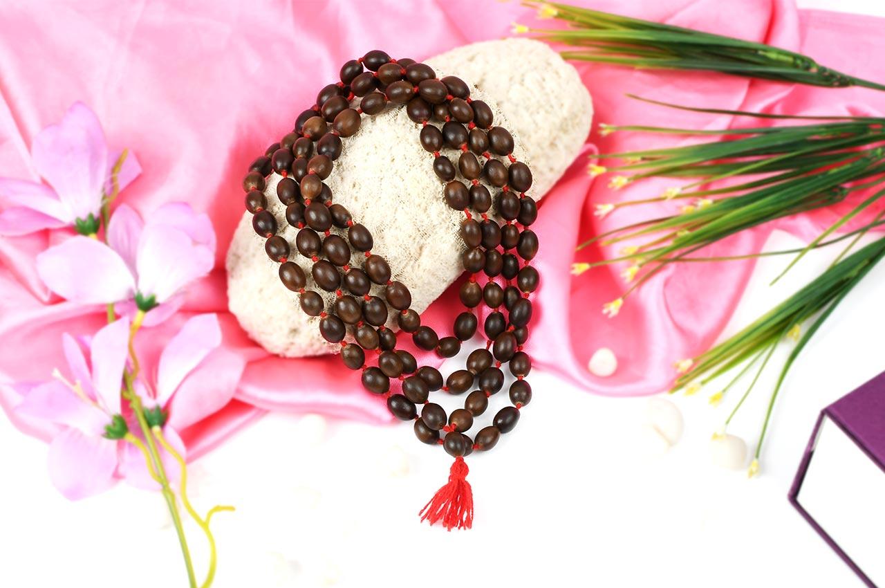 Spiritual Mala, Mala for Mantra Japa, Mala for Meditation, Rudraksha ...