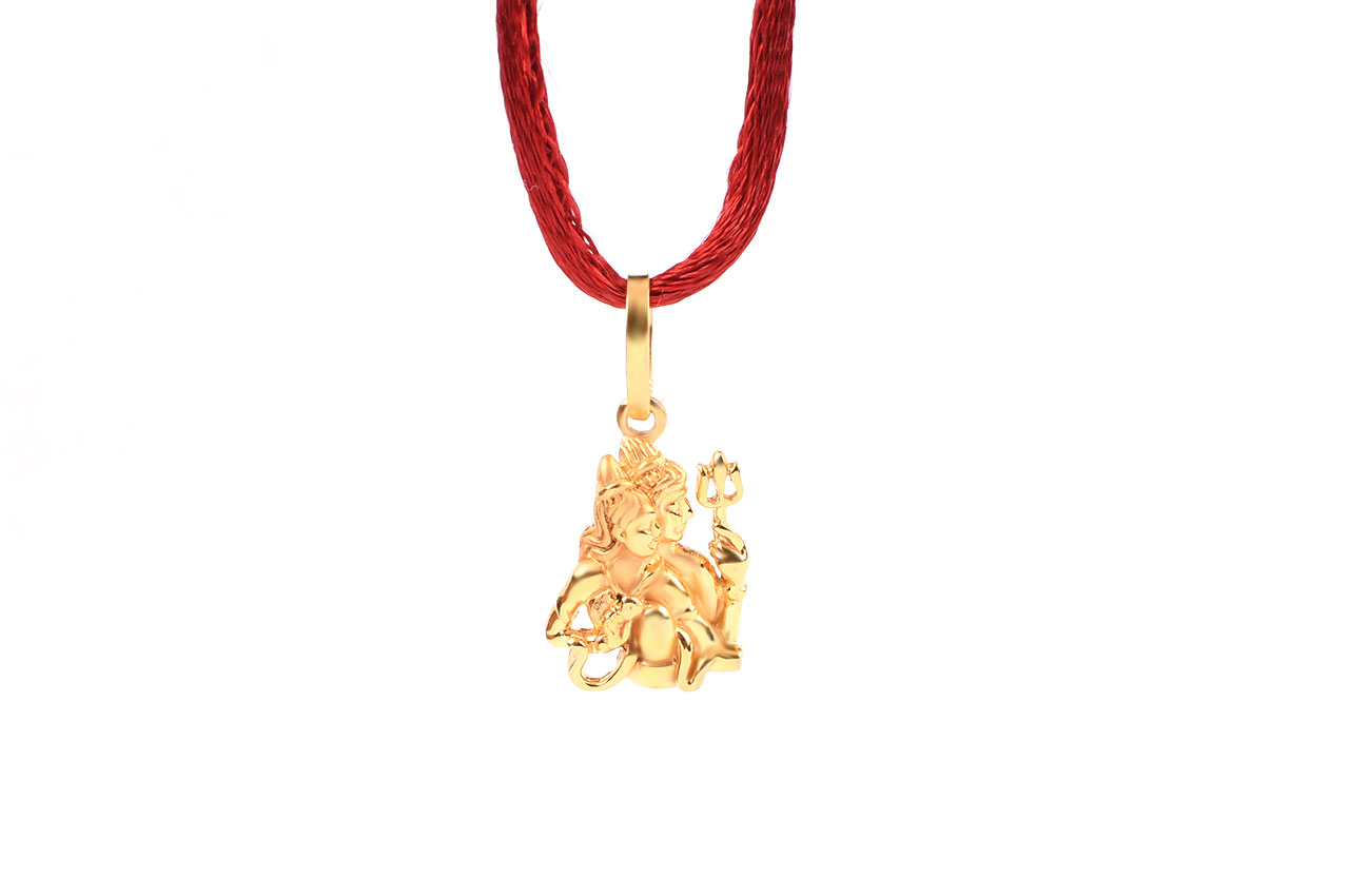 buy locket design gold lockets pure rudraksha lakshmi ii in golden ratna
