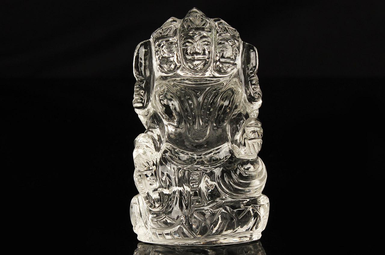 Kartikeya idol in Crystal