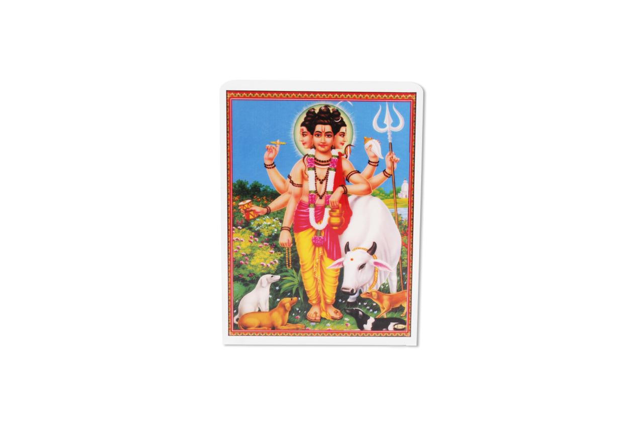 Lord Dattatreya Glittering Photo