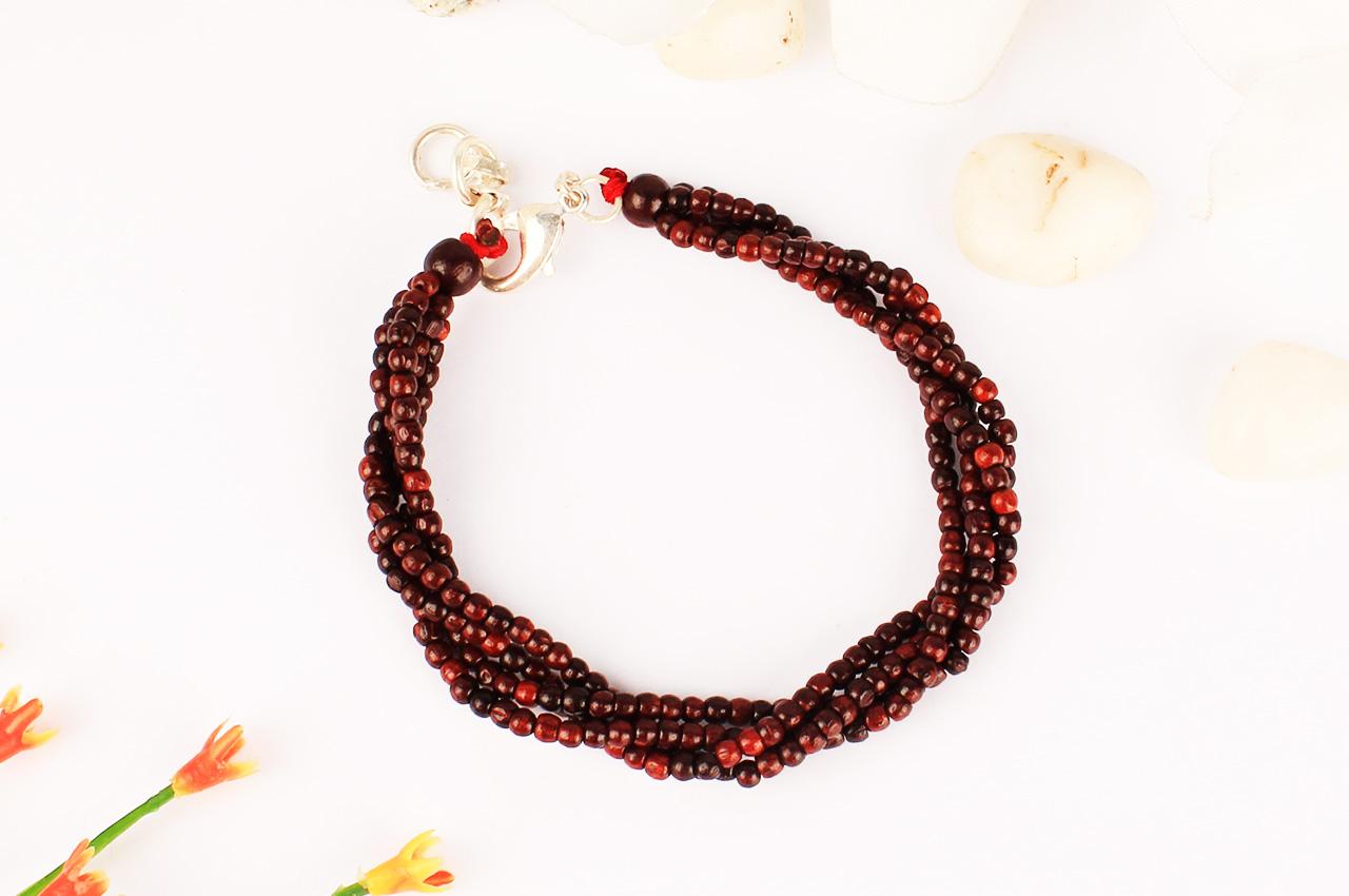 Red Sandal Bracelet