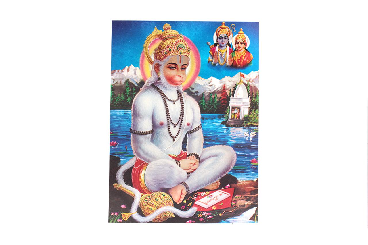 Lord Ram Bhakt Hanuman Photo - Large