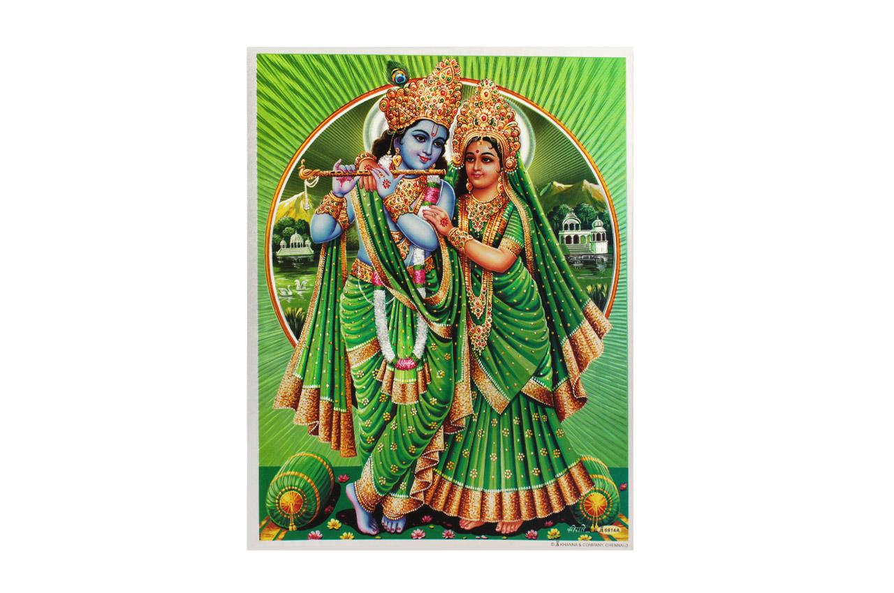 Radha Krishna Photo - Large