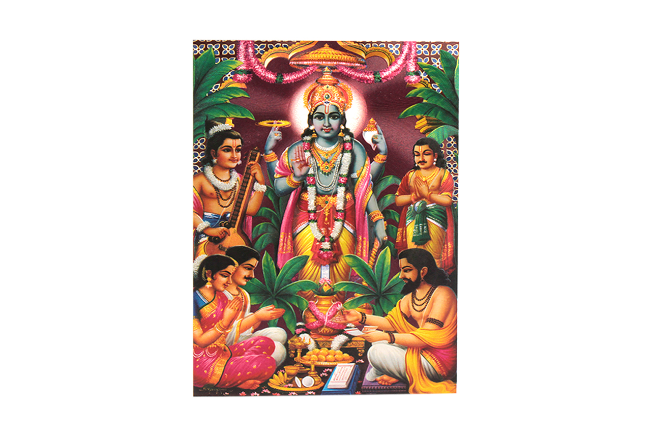 Lord Satyanarayan Photo - Medium