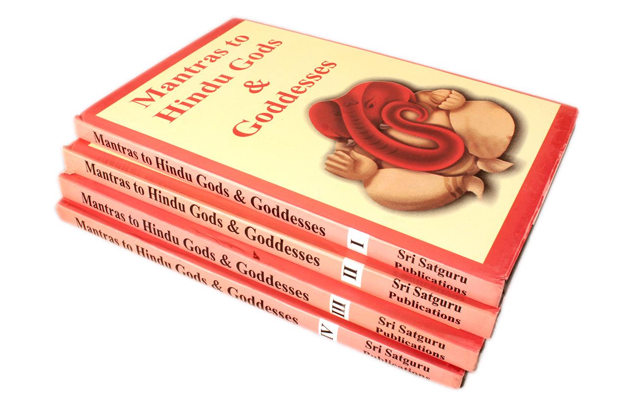 Mantra to Hindu Gods and Goddesses - Set of IV volume