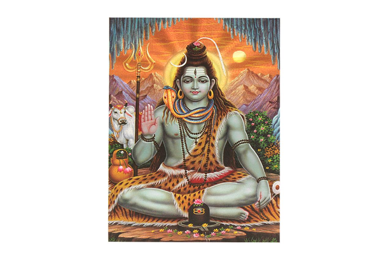 Lord Shiva Photo - Medium