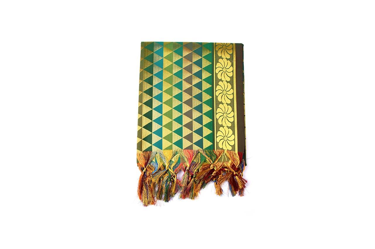 Art Silk Shawl - Design XII
