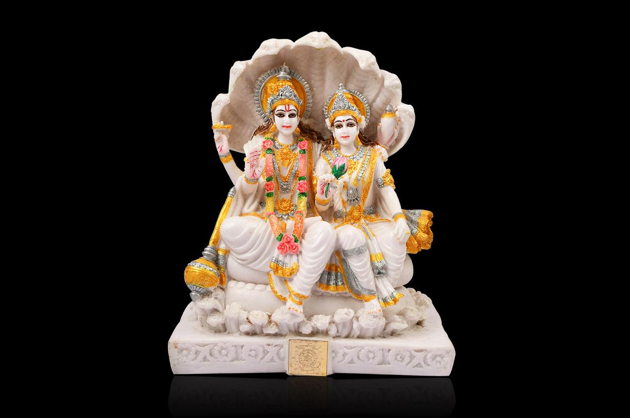 Vishnu Laxmi Murti Rudraksha Ratna