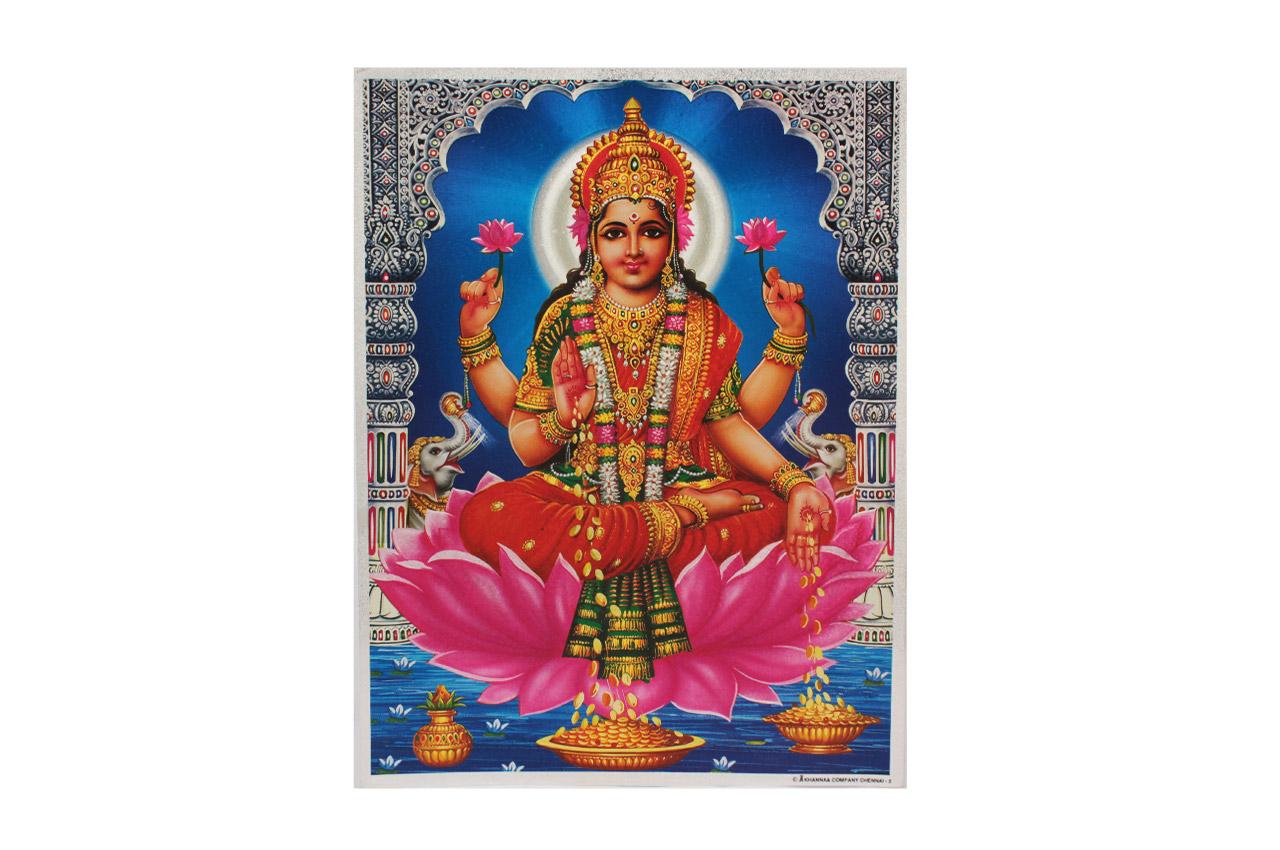 Goddess Mahalakshmi Photo - Large