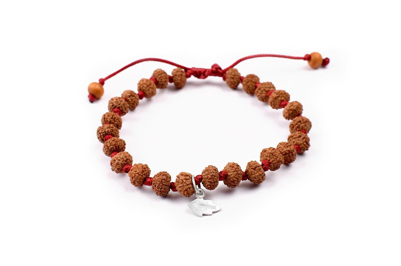 7 mukhi Mahalaxmi bracelet from Java in silk thread