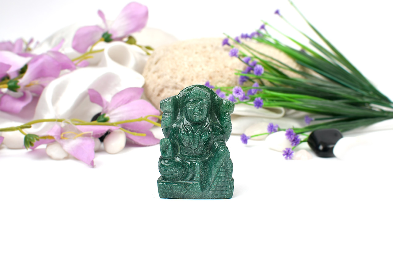 Laxmi in Green Jade - 125 gms