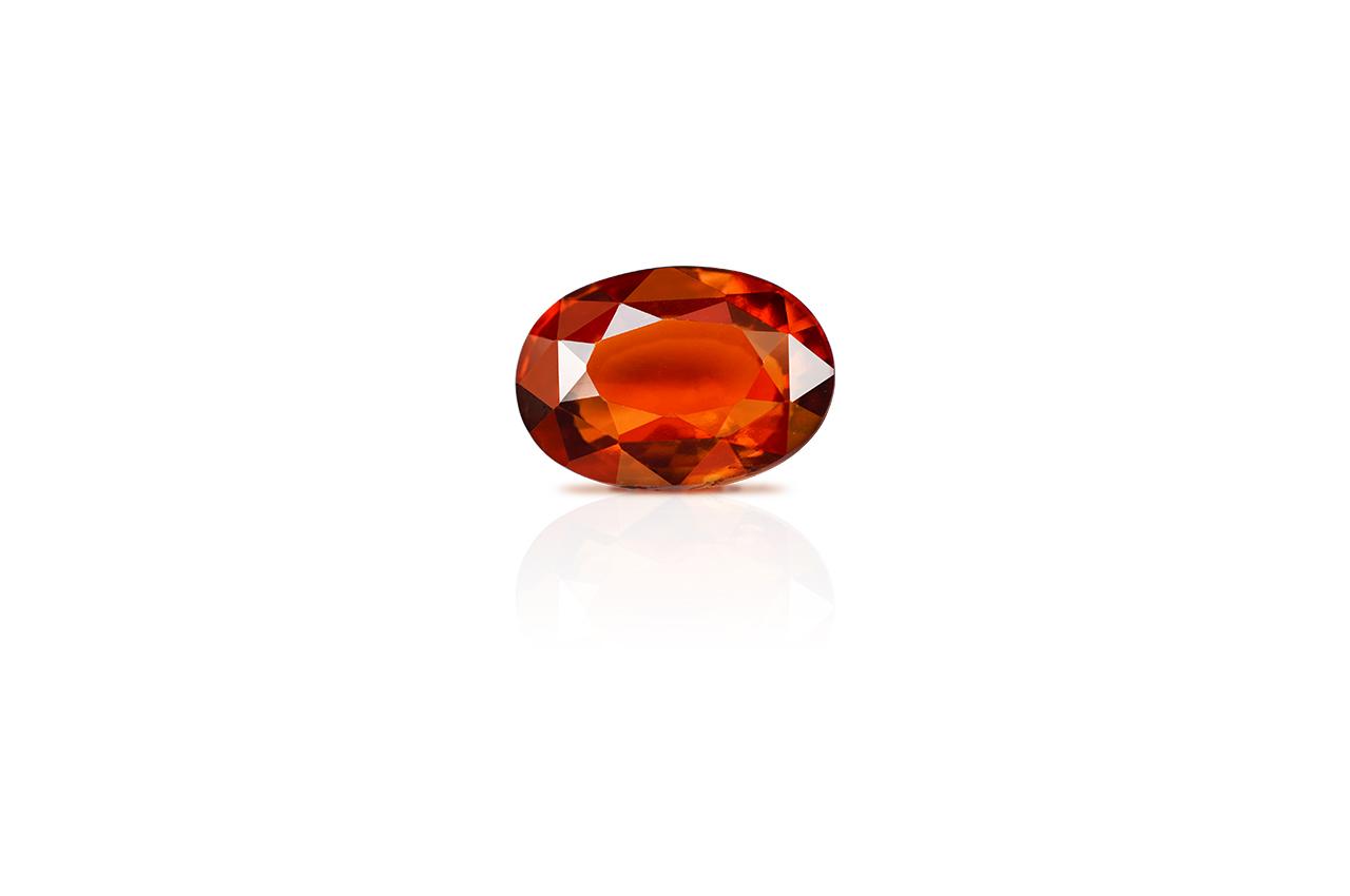 Hessonite Garnet - Gomed - 5 - 6 Carats