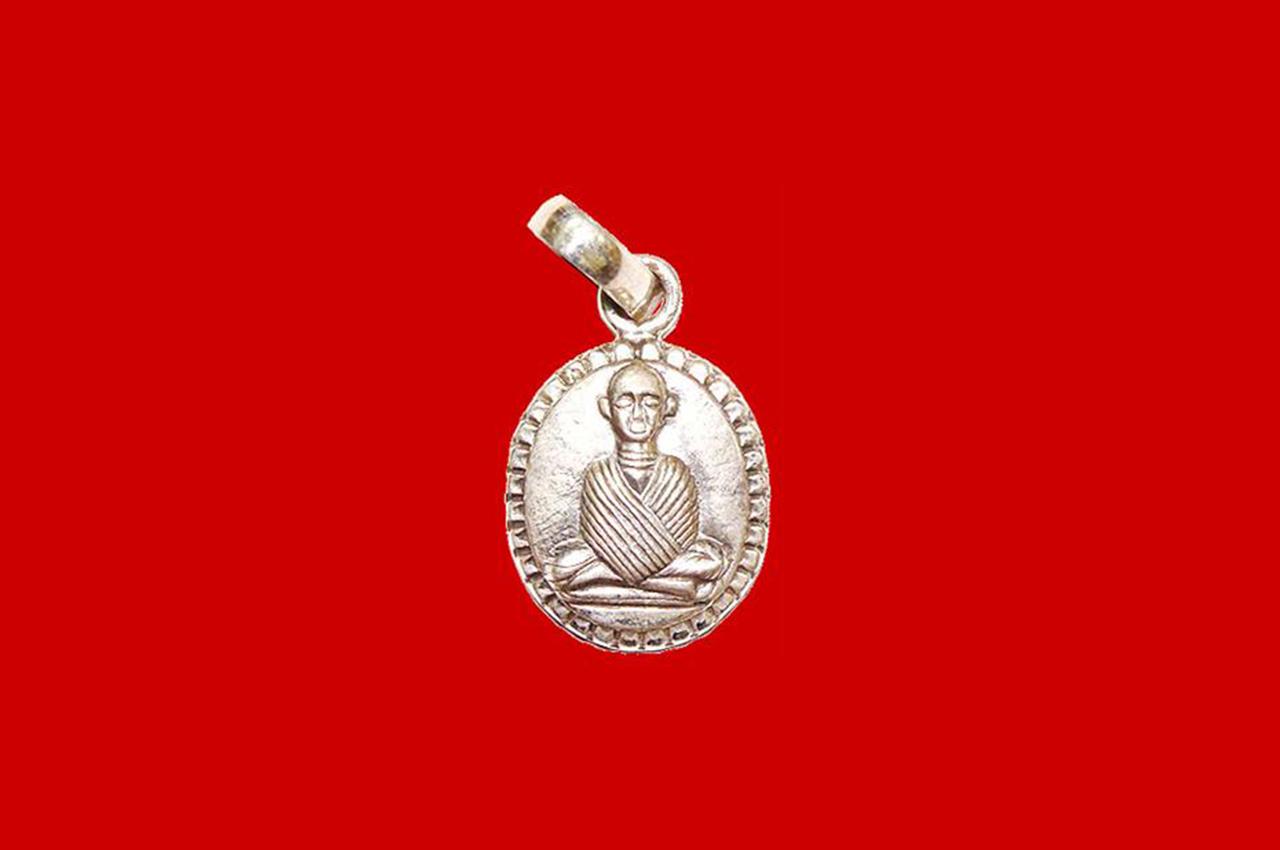 Mahavira Locket - in Pure Silver
