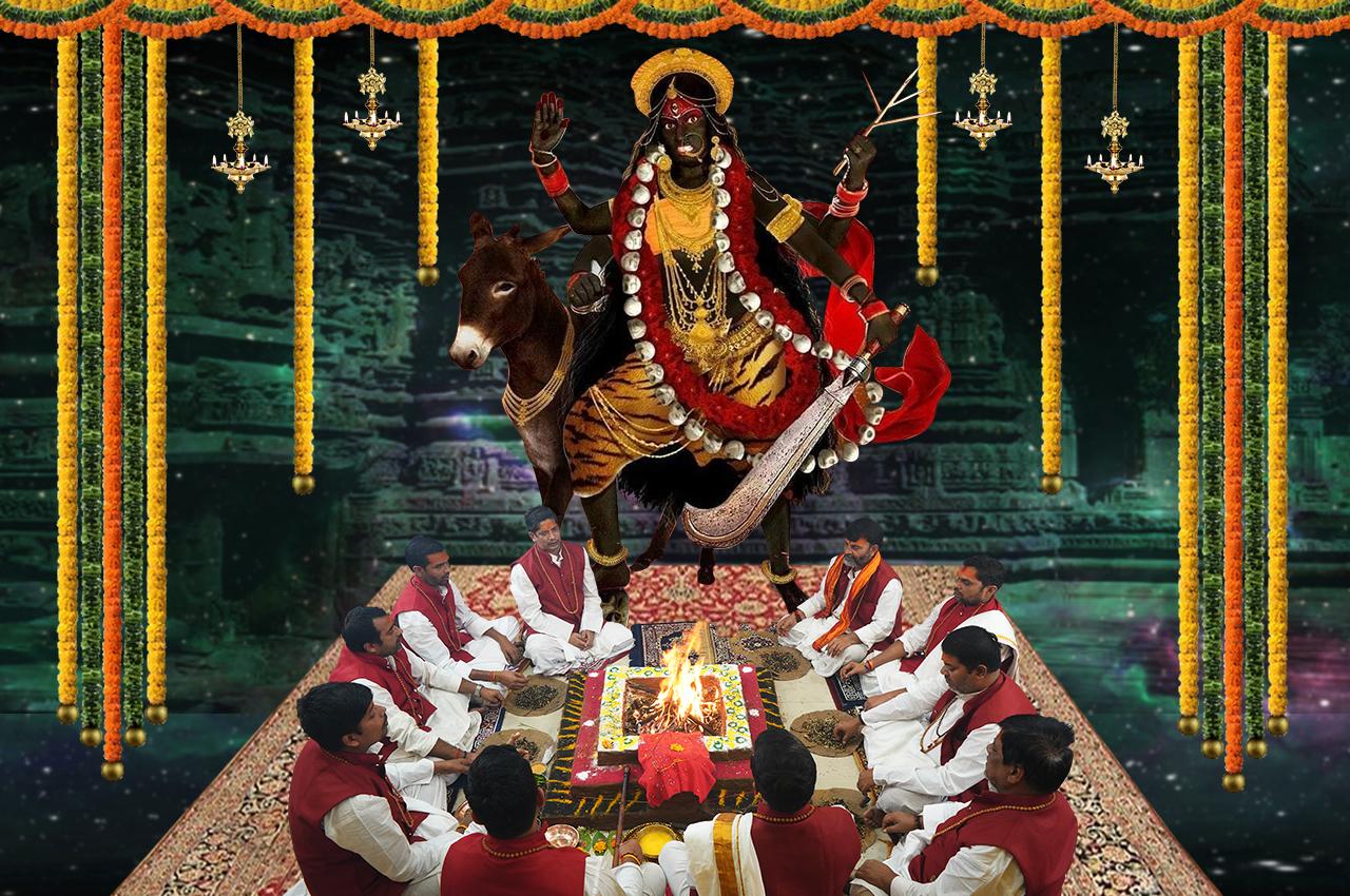 Kaalratri Puja