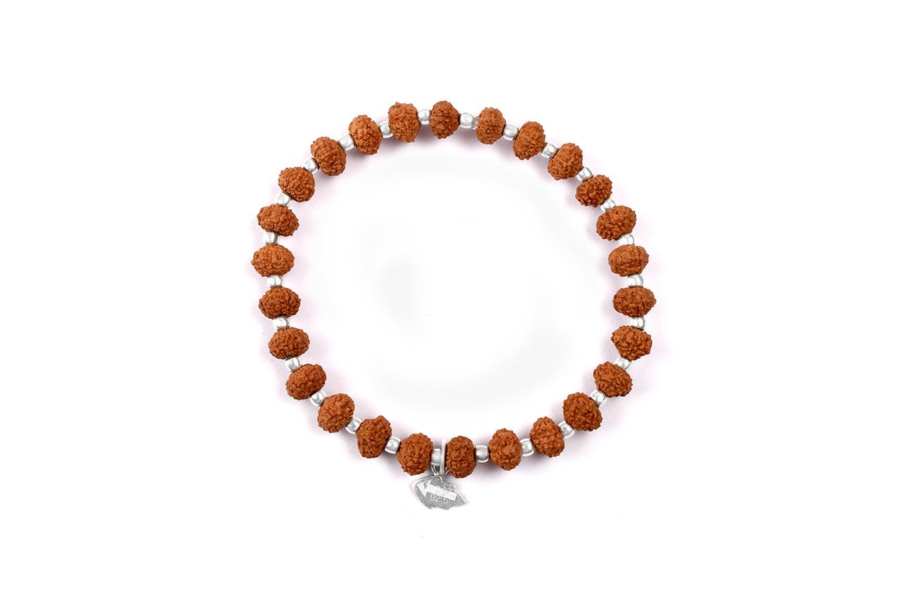 8 mukhi Ganesha bracelet from Java with silver balls