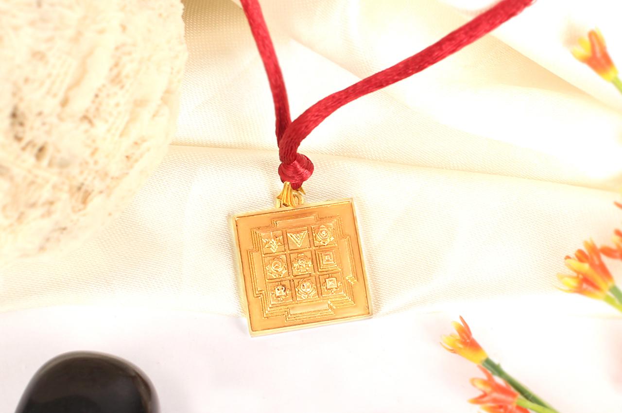 Navgraha Locket in brass