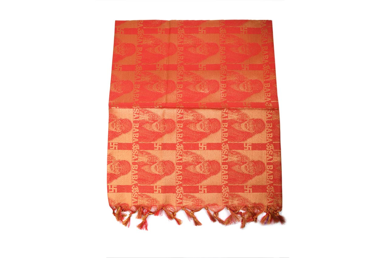 Sai Baba Shawl in Art Silk