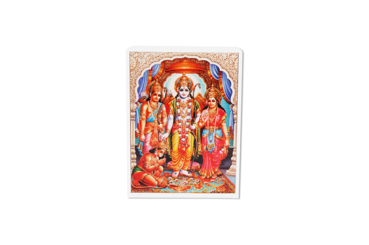 Ram Parivar Glittering Photo