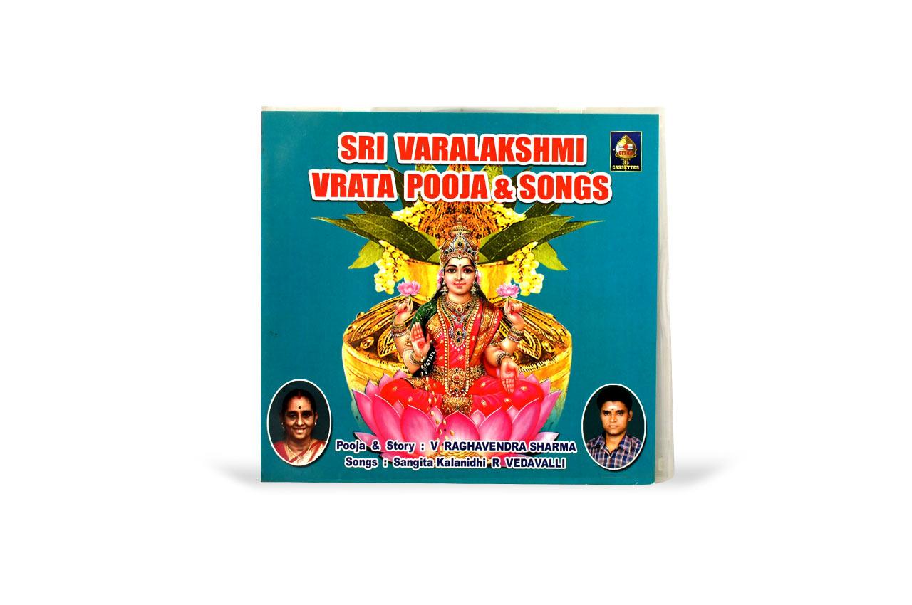 Sri Varalakshmi Vrata Pooja and Songs
