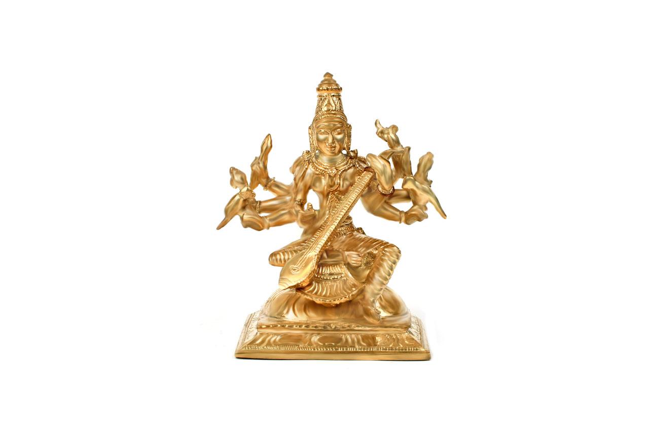 Goddess Matangi idol in Bronze