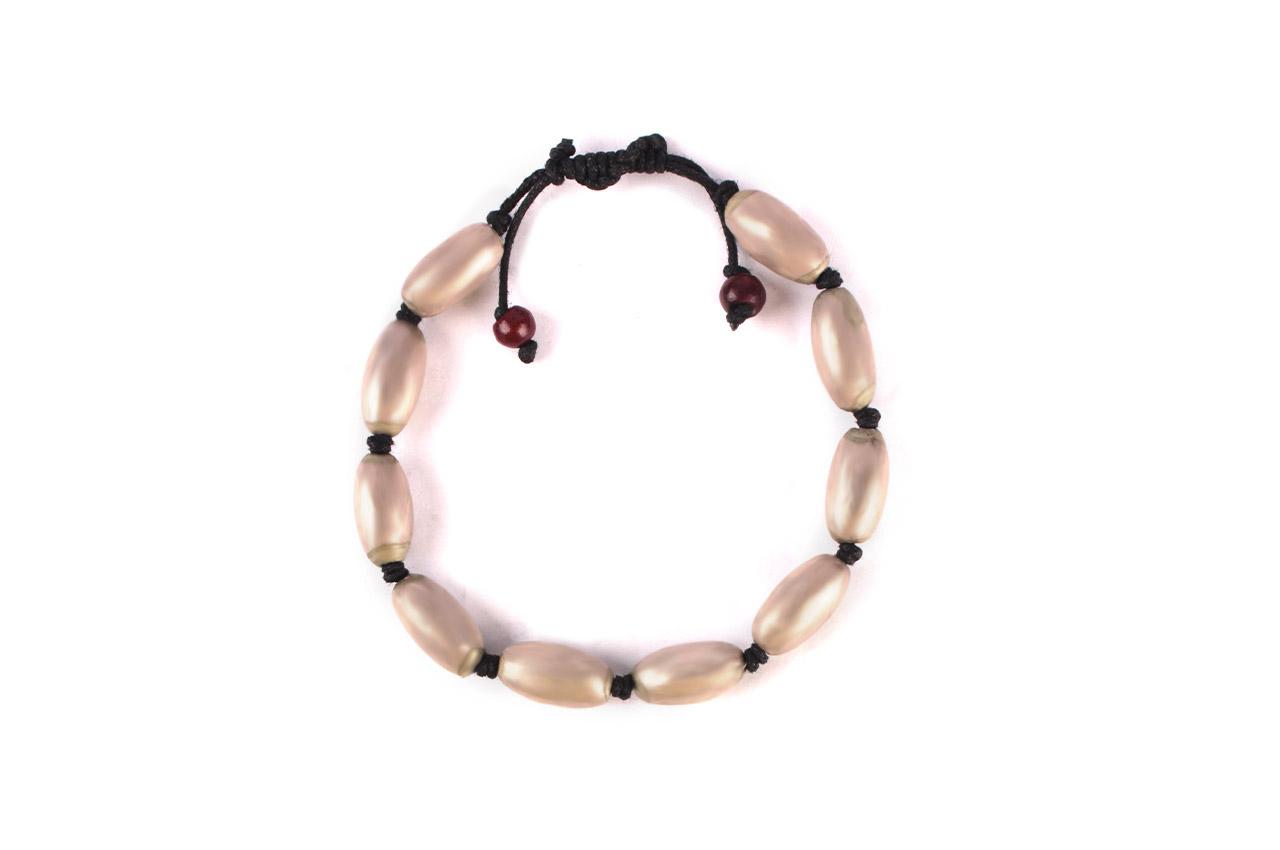 Lingam shape Parad Gutika bracelet