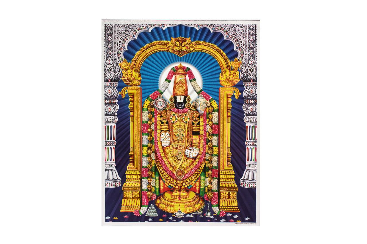 Lord Tirupati Balaji Photo - Large