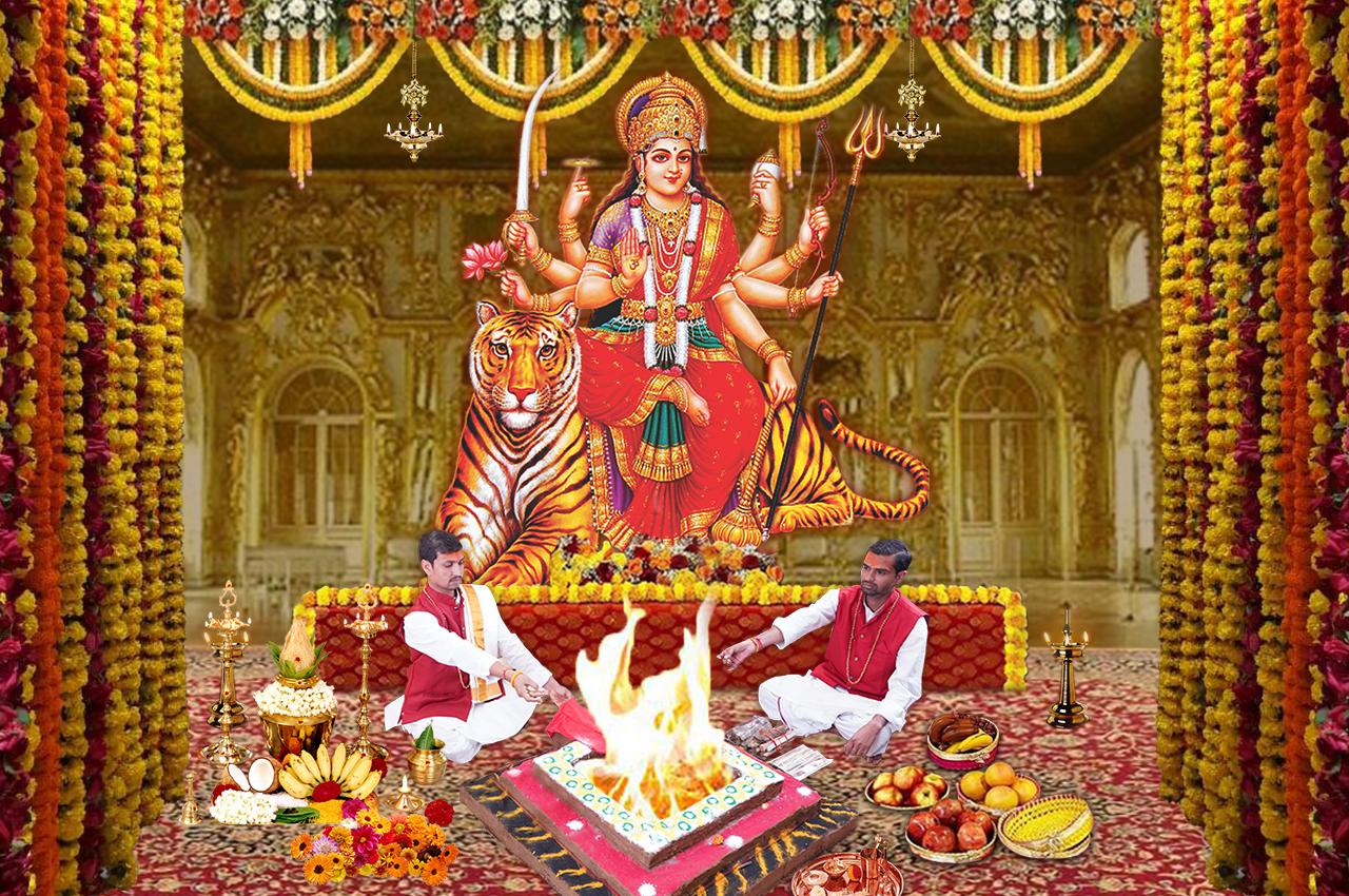 Durga Puja for Health Wealth Success