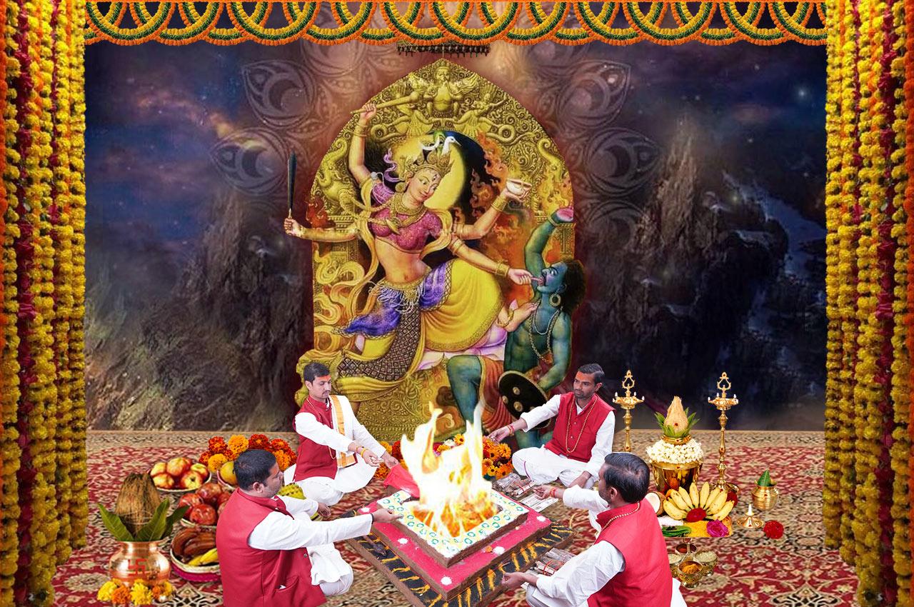 Baglamukhi Puja and Yagna