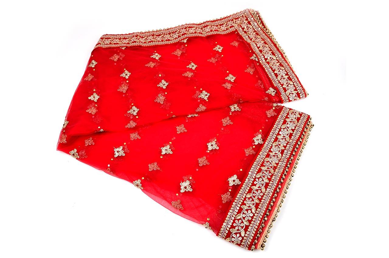 Embroidered Devi Mata Ki Chunri/Fatka