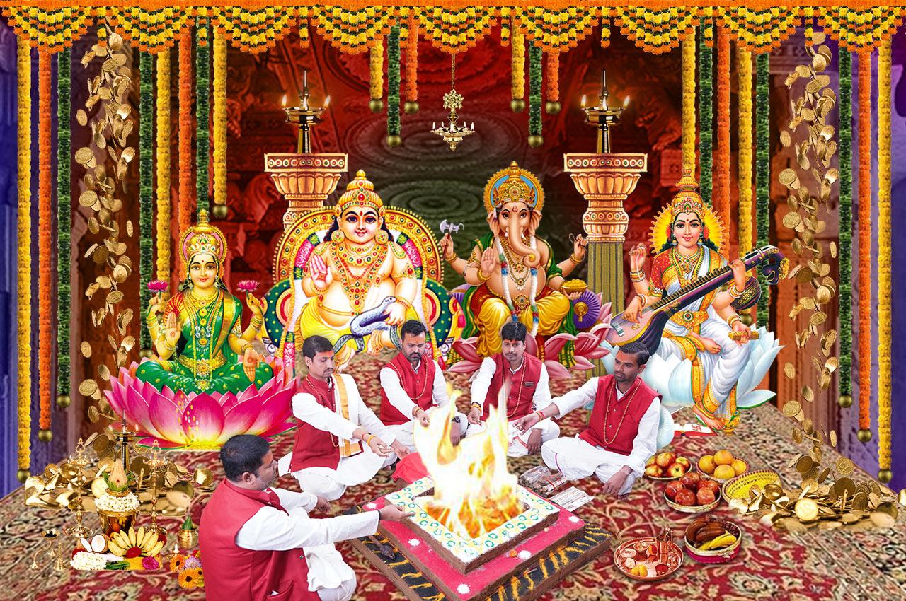 Dhan Akarshan Siddh Puja